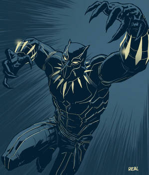 Black Panther by JoseRealArt