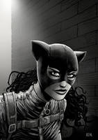 Catwoman by JoseRealArt
