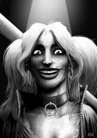 Harley Quinn by JoseRealArt