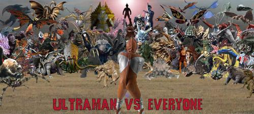 Ultraman vs Everyone by Nagoda