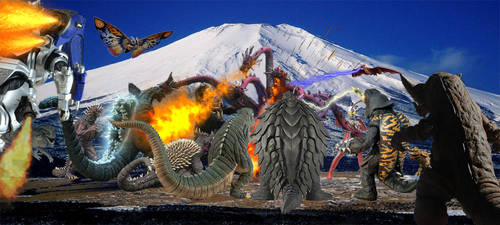 Orochi vs Everyone Request by Nagoda