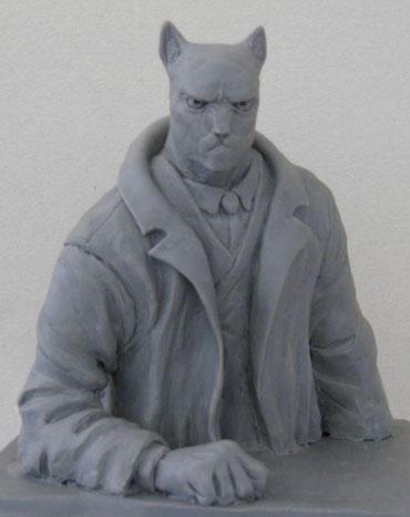 Blacksad Bust by rafiba