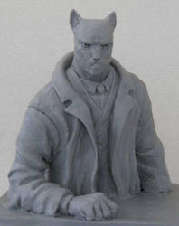 Blacksad Bust by rafiba