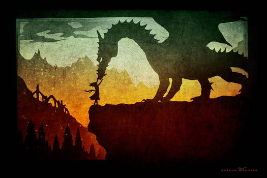 PaperCut - The girl and the dragon by CDPmediendesign