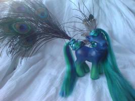 Peacock Pony by assassin-kitty