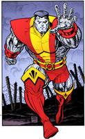 Colossus by Arthur Adams by DrDoom1081