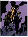 Vampirella 3 by Mike Mignola by DrDoom1081