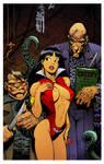 Vampirella Creepy Cover by Arthur Adams by DrDoom1081