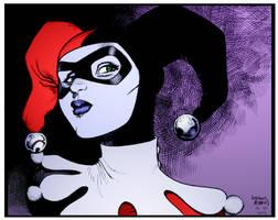 Harley Quinn by Arthur Adams by DrDoom1081