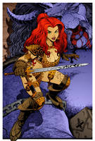 Red Sonja 9 by DrDoom1081