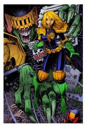 Judge Death by Arthur Adams by DrDoom1081