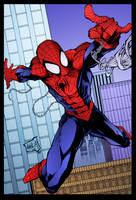 Spider-Man by Javier Avila by DrDoom1081