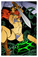 Red Sonja 3 by Bruce Timm by DrDoom1081