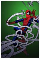 Spider-Man v Ock by Patrick Scherberger by DrDoom1081
