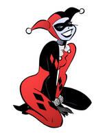 Harley Quinn VI by Bruce Timm by DrDoom1081