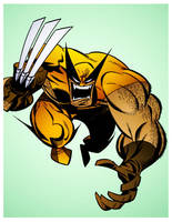 Wolverine by Bruce Timm by DrDoom1081
