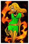 Jean Grey by Bruce Timm by DrDoom1081