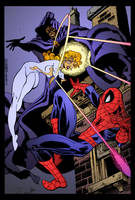 Cloak and Dagger by Rick Leonardi by DrDoom1081