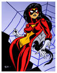 Spiderwoman by Bruce Timm by DrDoom1081