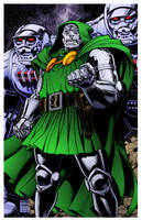 Dr. Doom II by Arthur Adams by DrDoom1081