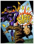 Batgirl by Bruce Timm by DrDoom1081