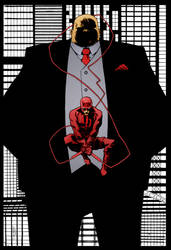 Daredevil by Declan Shalvey by DrDoom1081