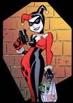 Harley Quinn by Buce Timm by DrDoom1081