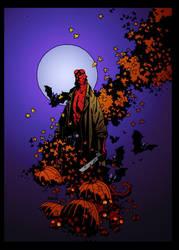 Hellboy Halloween by Mike Mignola by DrDoom1081