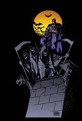 Dark Knight Above by Eduardo Risso by DrDoom1081