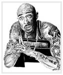 Sketch of 2Pac by chorvath8