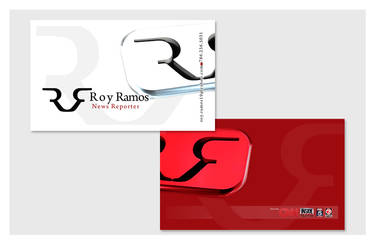 Business Cards - TV Reporter by chorvath8