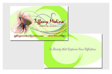 Business Cards - Make Up Artist by chorvath8