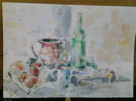 Acrylic - Still Life 01 by Luka87