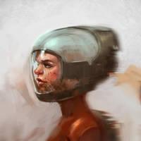 Spacegirl by Luka87