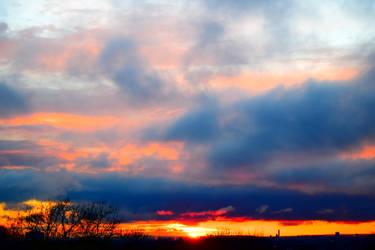Manchester Sunset by GonzoShepherd