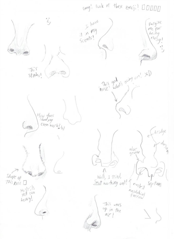 Nose Practice! by ZeroKelvinKeyboard