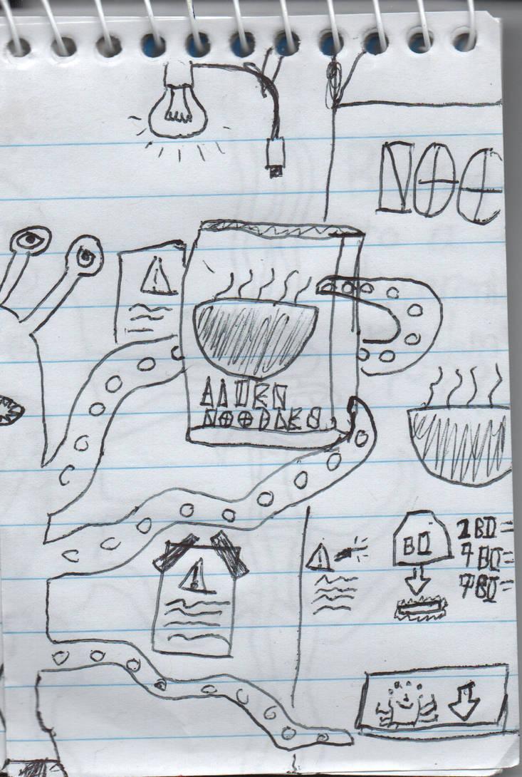 Alien Noodles by ZeroKelvinKeyboard