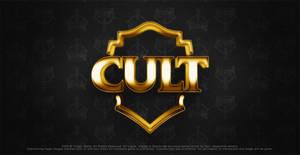 logo cult gold by thiagotasca