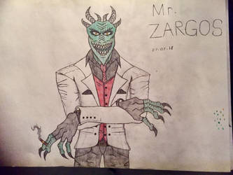 Mr. Zargos by AGuynamedJdogg