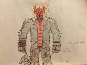 Devil Rider (upgrade design) by AGuynamedJdogg