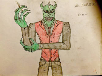 Mr. Zargos (Upgrade Design) by AGuynamedJdogg