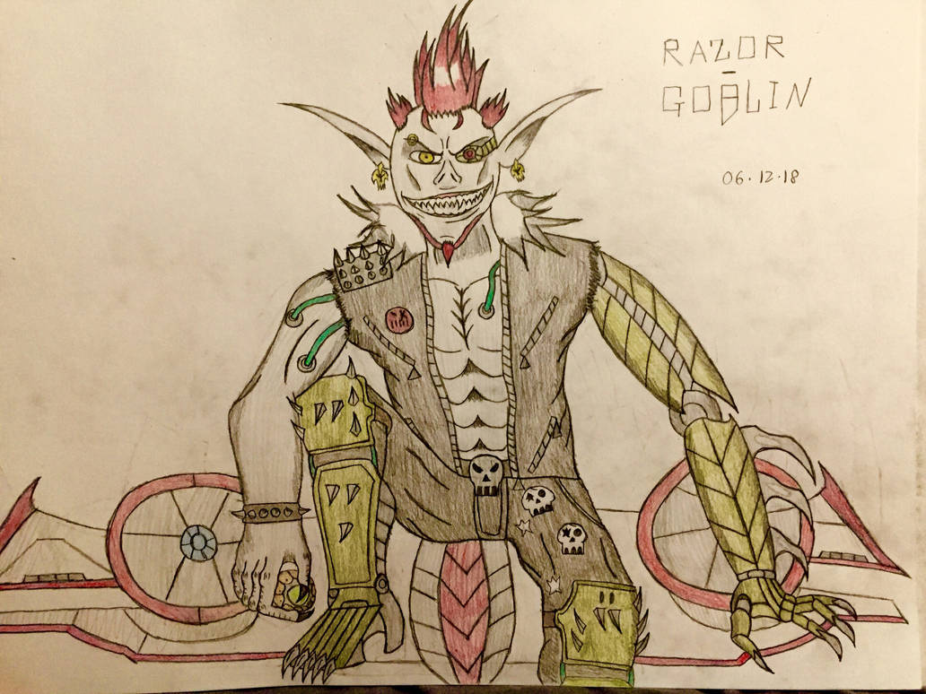 Razor-Goblin (Upgrade Design) by AGuynamedJdogg