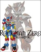 Rockman Zero-3RD Armor by JamesCGamora
