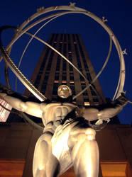 rockefeller atlas statue by gbarill