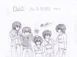 Percy Jackson: All 5 Years by z3ro-hour