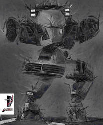 Future Cop LAPD X-1 ALPHA - Timotei Istvan Erdei by Timotei-Robotics