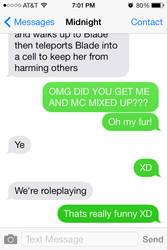 Funny texts #2 P2 by Kreaya