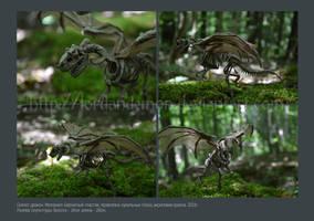 Dragon skeleton by LordAndemon