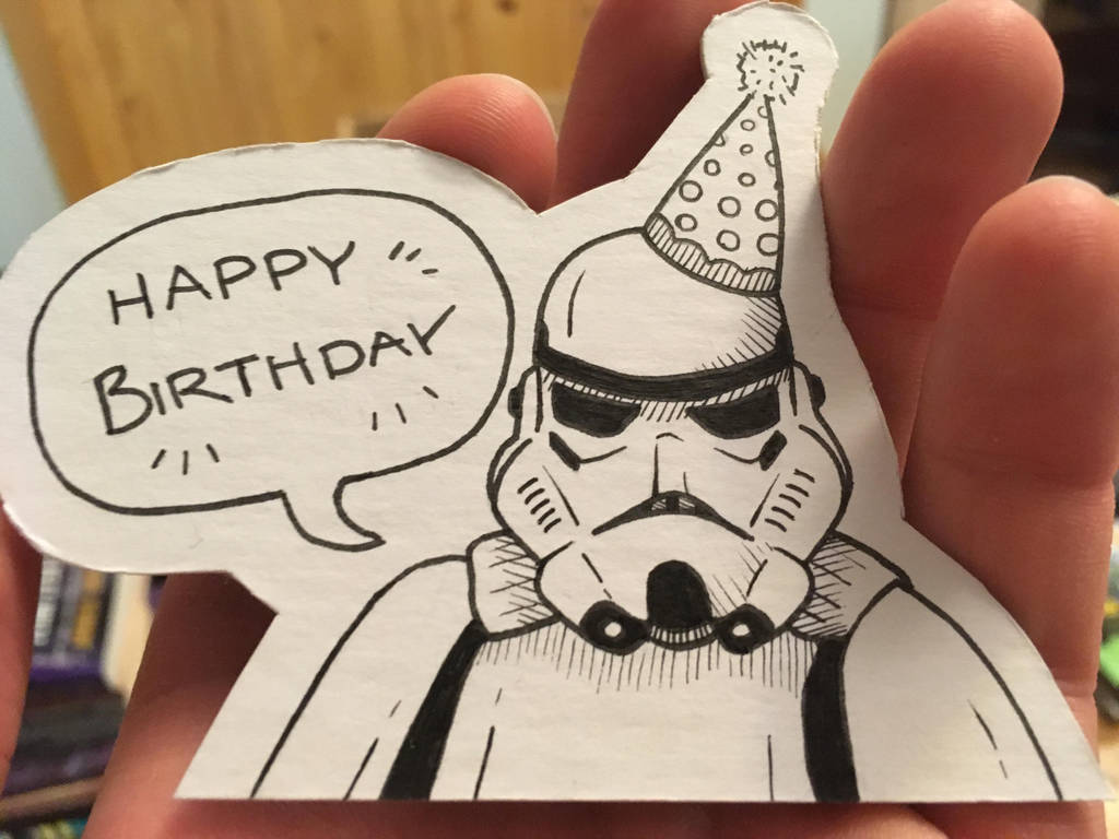 Birthday Stormtrooper by Shadowkey392