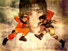 Naruto: Vengeance by inkscripter